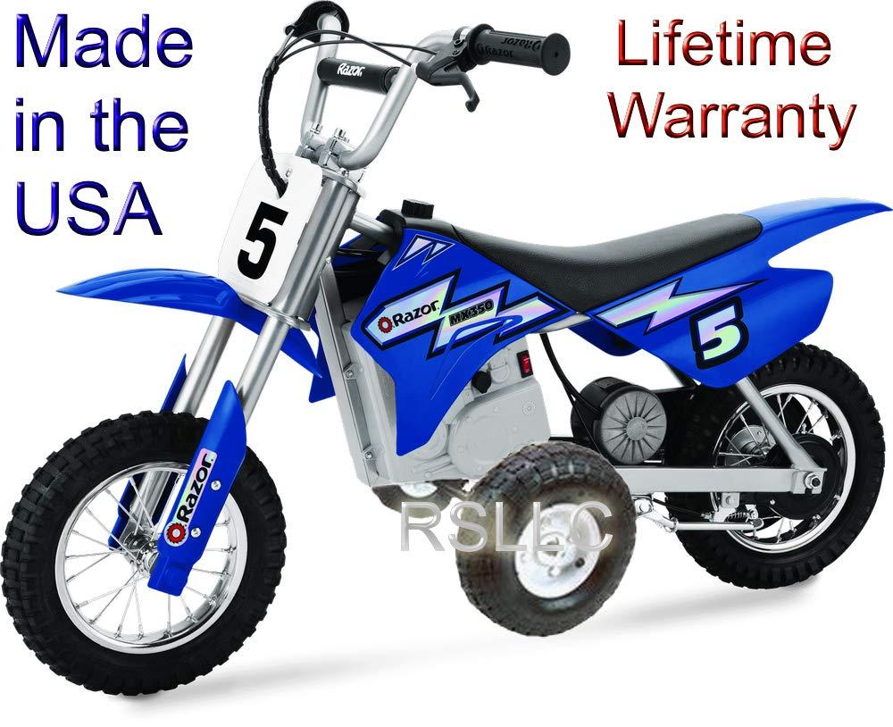 Rigid Motorcycle Training Wheels Razor