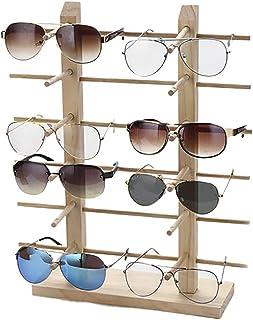 f222363946 JUSTDOLIFE Soporte De Exhibición De Los Vidrios Creativo Madera Decorativa  Estante para Gafas De Sol para
