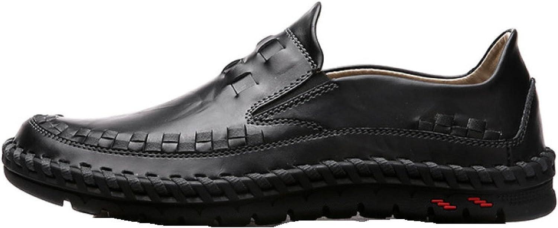 Men's shoes, Weaving, Autumn Winter, Leather, Men's, Sets Feet, Small shoes