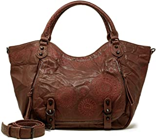Luxury Fashion | Desigual Womens 19WAXP57BROWN Brown Tote | Fall Winter 19