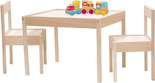 Kit Mobiliario Mesa y Sillas Infantiles Montessori Set 2 Sil