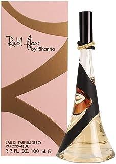 Rihanna Rebelle Fleur Eau De Parfum Spray for Women, 3.4 Ounce