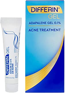 Differin, Adapalene Gel 0.1%, Acne Treatment, 0.5 oz (15 g)