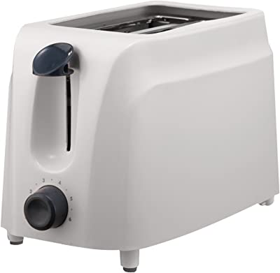 Brentwood TS-260W Cool-Touch Toaster, 2-Slice