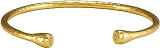 Nailhead Gold Bangle