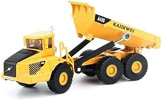 KDW 1/87スケールダイキャストダンプカー工事車子供の建築模型おもちゃ