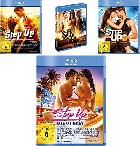 Step up 1+2+3+4 (Miami Heat) im Set - Deutsche Originalware [4 Blu-rays]