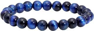 MILAKOO 8mm Tiger Eye Bracelet Elastic Yoga Healing Energy Men Women Stretch Bracelet