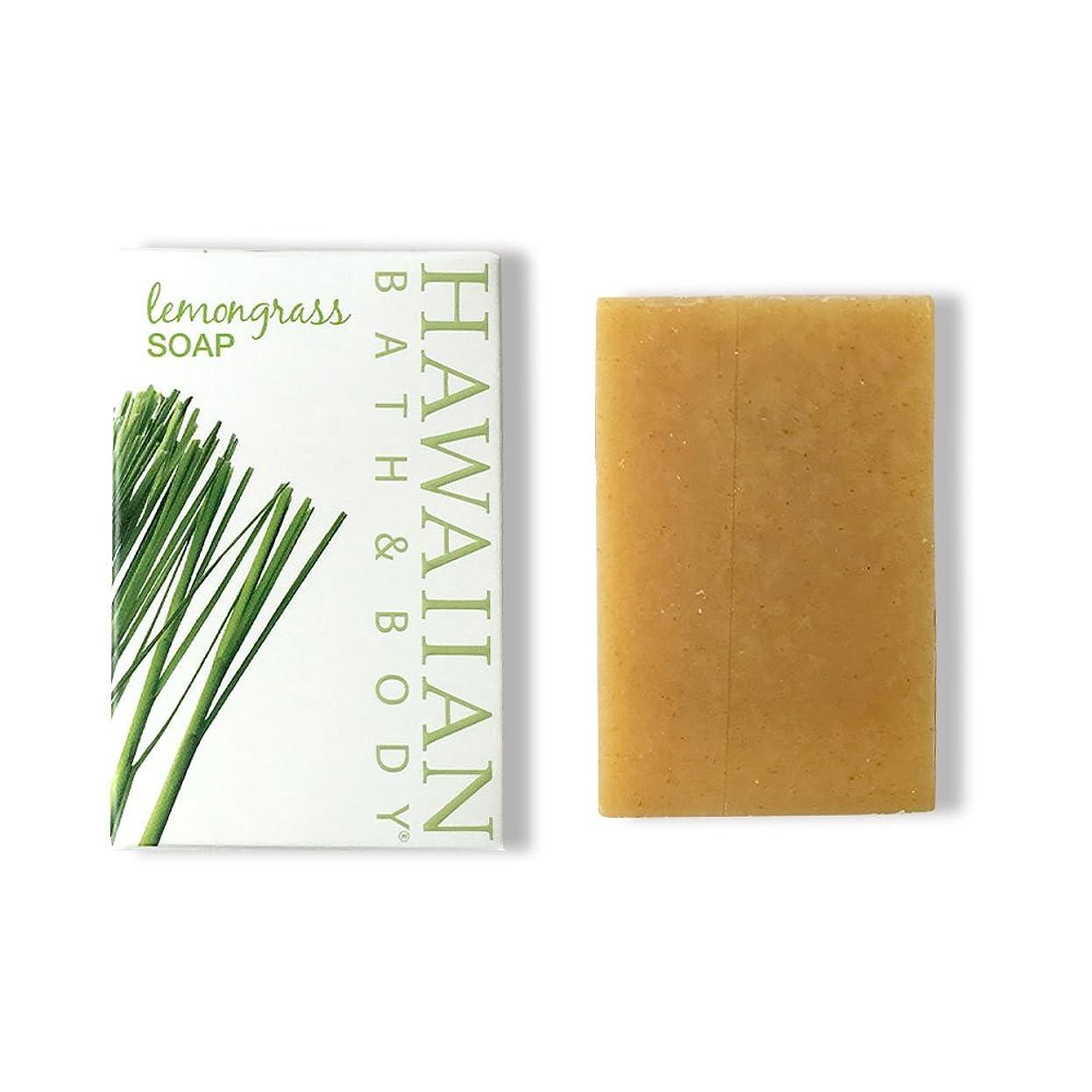 乱気流少ない丁寧ハワイアンバス&ボディ ジンジャーレモングラスソープ ( Ginger Lemon Grass Soap )