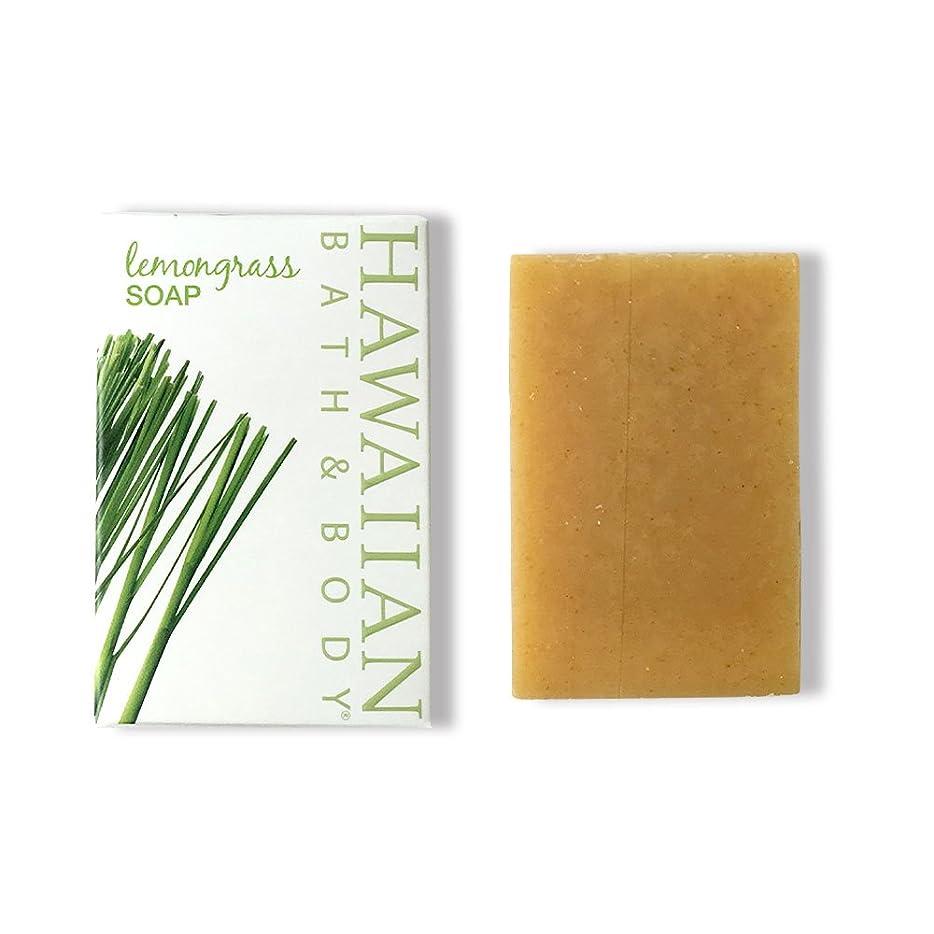 好戦的な呪われた見習いハワイアンバス&ボディ ジンジャーレモングラスソープ ( Ginger Lemon Grass Soap )
