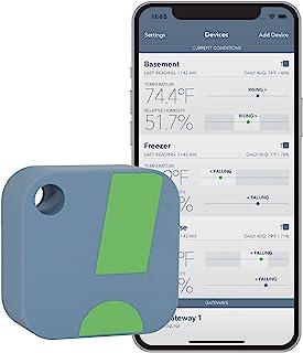 SensorPush Wireless Thermometer / Hygrometer for iPhone / Android - حسگر حساس رطوبت و دما با هشدارها. توسعه و پشتیبانی در ایالات متحده آمریکا