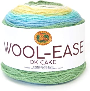 Lion Brand Yarn 622-604 Wool-Ease DK Cakes Yarn, One Size, Meadow