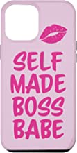 iPhone 12 Pro Max Self-Made Boss Babe for Women Business Owners or Executives Case