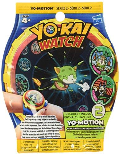 Yokai Watch - Sobres sorpresa con Yo-Motion (Hasbro B7497EU4), personajes surtidos de las series 1,2 y 3