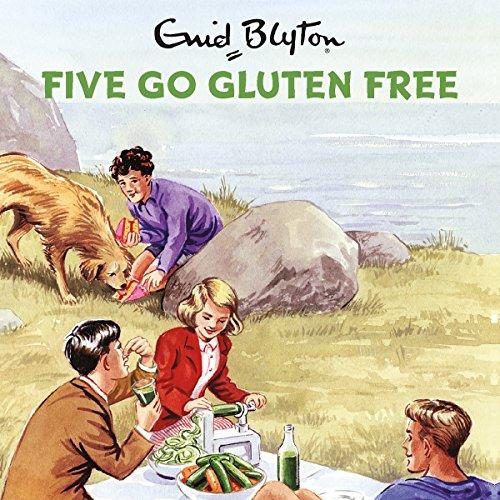 Five Go Gluten Free audiobook cover art