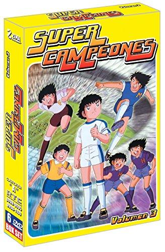 Captain Tsubasa - Super Campeones 1983 Box Set DVD Volumen 3 Español Latino