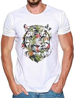 Camiseta para Hombre, Xinantime Hombres Que Imprimen la ...