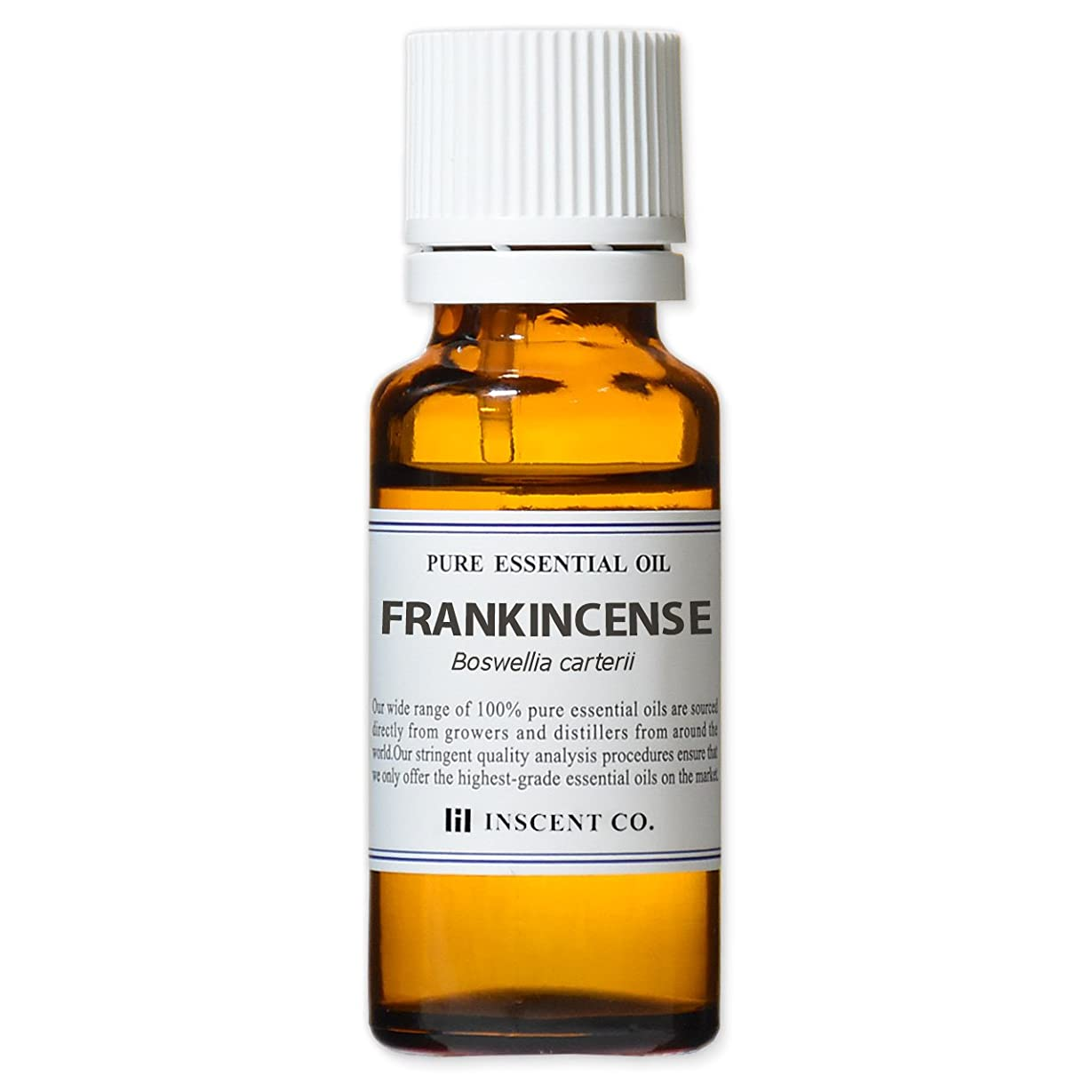 フランキンセンス (オリバナム/乳香) 20ml インセント アロマオイル AEAJ 表示基準適合認定精油