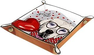 BestIdeas Panier de rangement carré 20,5 × 20,5 cm, avec licorne en poly étoile, boîte de rangement sur table pour la mais...