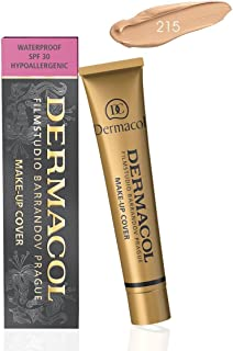 Dermacol Make - Up Cover Waterproof Hypoallergenic SPF 30#215 by Dermacol (Cover All Ance Scar and Tattoo)
