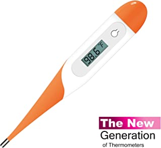 iHealth No-Touch Forehead Thermometer, Infrared Adult Thermometer for Adults and Kids,Digital Infrared Thermometer, Kid and Baby Thermometer Thermometer Digital Infrared Forehead Non-Contact Thermometer for Adults and Children, ˚F/ ˚C Convertion Accurate Instant Reading Output,No Touch Digital Infrared Professional Thermometers Oral Thermometer for Fever Test with Flexible Tip, Body Temperature Fast Reading Oral Rectal Underarm Fever Indicator for Children Kids Adults & Babies