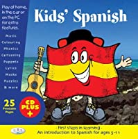 Kids' Spanish: First Steps in Learning by Unknown(2008-02-22)