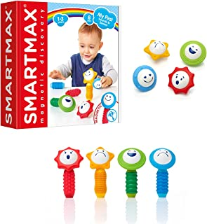 SmartMax My First Sounds & Senses Magnetic Discovery Building Kit for Ages 1+