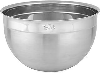 RÖSLE Skål hög, högkvalitativ välformad rostfri stålskål för tillagning och förvaring av livsmedel, 18/10 rostfritt stål, ...
