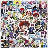 JBOBO 10/30/50PCS Anime SK8 The Infinity Cartoon Graffiti Stickers Viaje Equipaje Guitarra Nevera Laptop DIY Kid Toy Etiqueta Impermeable.