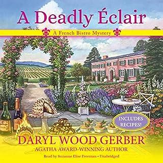 A Deadly Éclair audiobook cover art