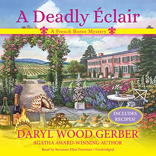 A Deadly Éclair     A French Bistro Mystery              By:                                                                                                                                 Daryl Wood Gerber                               Narrated by:                                                                                                                                 Suzanne Elise Freeman                      Length: 9 hrs and 56 mins     15 ratings     Overall 4.1