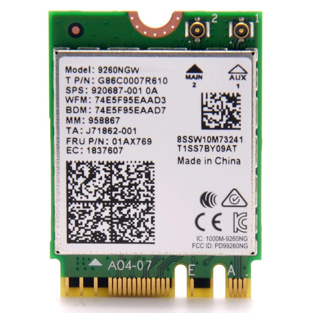 Intel Wireless Ac 9260 2230 Gigabit