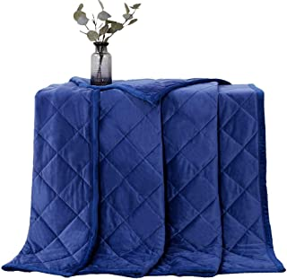 """MANLINAR Large(80""""x87"""") Fleece King Weighted Blanket 25 lbs, Warm Soft/Plush/Minky/Fuzzy/Fluffy/Weighted Blanket,King Size..."""