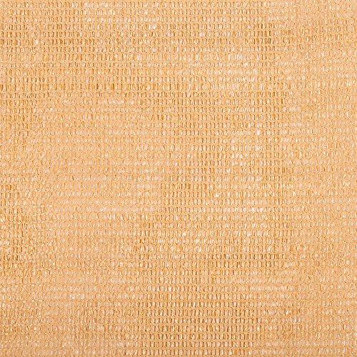 Catral 53010064 - Mini-rollo malla ocultación total, 150 x 1000 x 4 cm, color caña