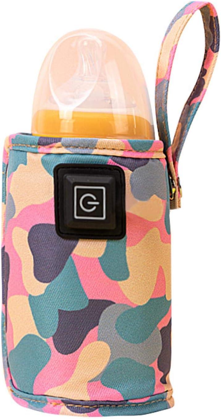 EMVANV Baby Bottle Warmer Mesa Mall Max 85% OFF USB 50° Milk B ° C Portable C-60