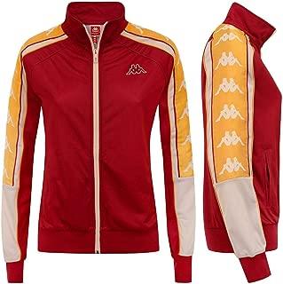 Banda Anay Women Track Jacket - RED/White/Gold