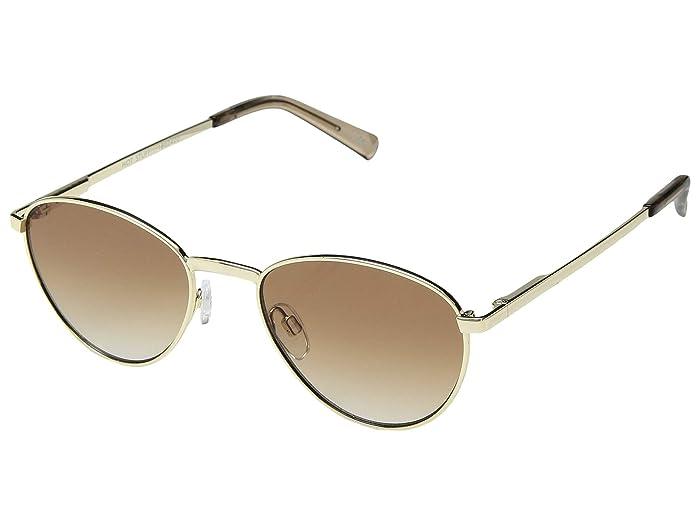 Le Specs Hot Stuff (Bright Gold) Fashion Sunglasses