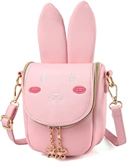 Pinky Family Super Cute Girls Purse Bunny Ear Shoulder...