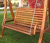 Design Hollywoodschaukel Modell 'KUREDO 103' ohne Gestell 2 Sitzer - 5