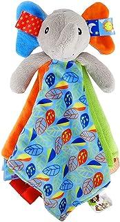 Elefante de juguete manta etiqueta para el bebé - manta