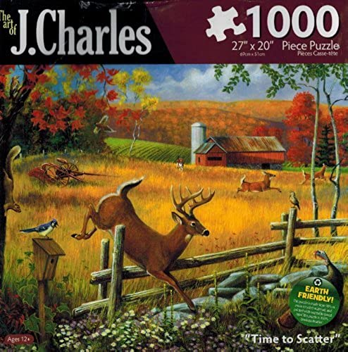 productos creativos The Art of J. Charles - Time to Scatter by by by Karmin International  100% autentico