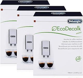 Descalcificadores DeLonghi EcoDecalk, 2 unidades, 100 ml, 3 paquetes
