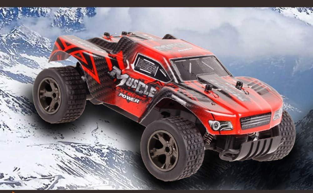 MXZBHSimulation chargeant Un véhicule Hors Route, Voiture télécommandée électrique Haute Vitesse compétitive blue