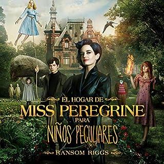El hogar de Miss Peregrine para niños peculiares cover art