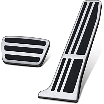 Weigesi Aluminium Auto Gas Foot Pedals for Toyota RAV4 2019-2020 Accessories Automatic Transmission at car Foot Pedals 2pcs