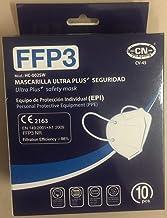 CN Mascarilla FFP3 EPI de 5 capas color blanco   Premium   caja 10 uds