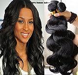 Romantic Angels Tissage Brésilien en Lot Extension Cheveux Naturels 3 Bundles (22 22 22)