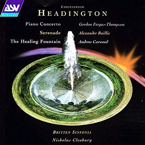Gordon Fergus-Thompson, Andrew Carwood, Alexander Baillie, Britten Sinfonia & Nicholas Cleobury