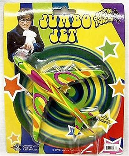 Austin Powers Shagadelic Jumbo Jet by Collectible Concepts