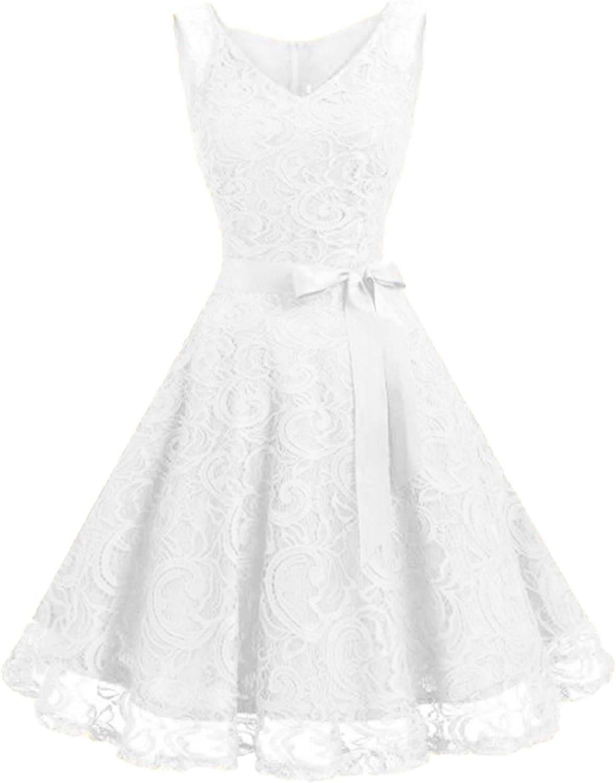 KIDSFORM Women Vintage Dress 1950s Classy Rockabilly Retro Floral Print Cocktail Evening Party Prom Swing Dress